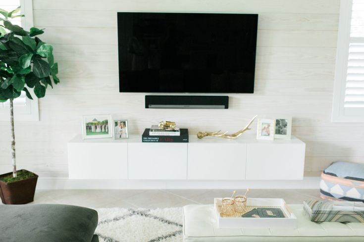 wall units a few people have asked about my living roomu0027s ikea hack diy floating tv console