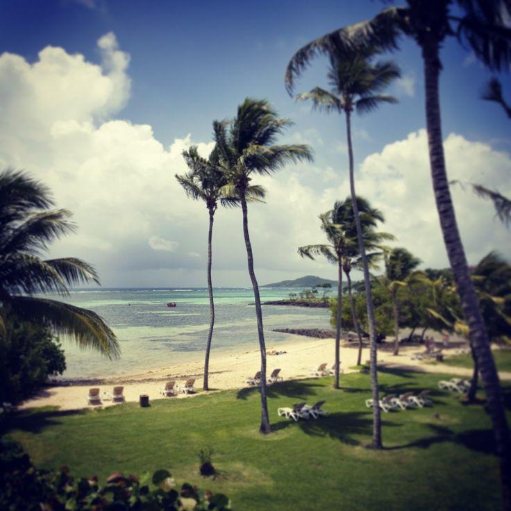 Le Cap Est Lagoon Resort beach. Martinique