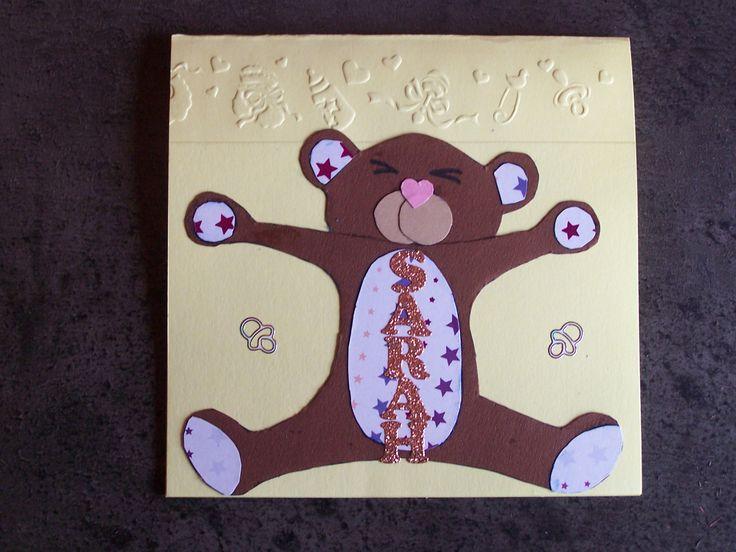 Geboorte beer kaart