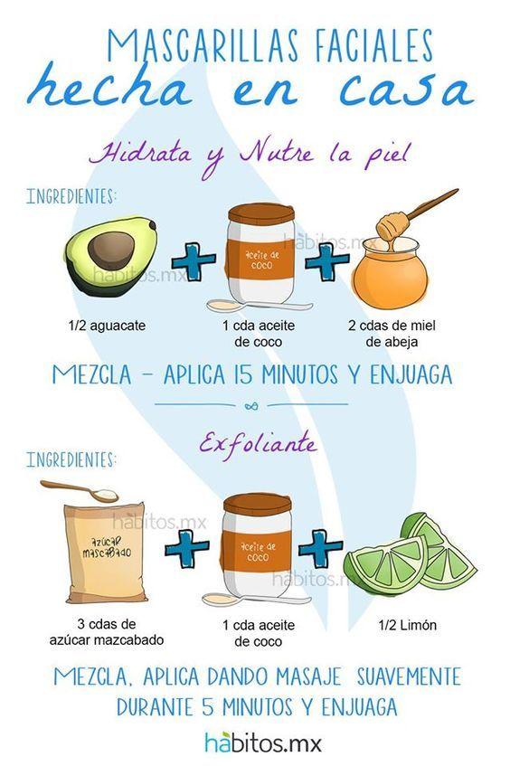 Hábitos Health Coaching | Mascarillas para cara y cuello -hidrata y nutre la piel-