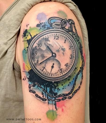 25+ Best Ideas About Time Piece Tattoo On Pinterest