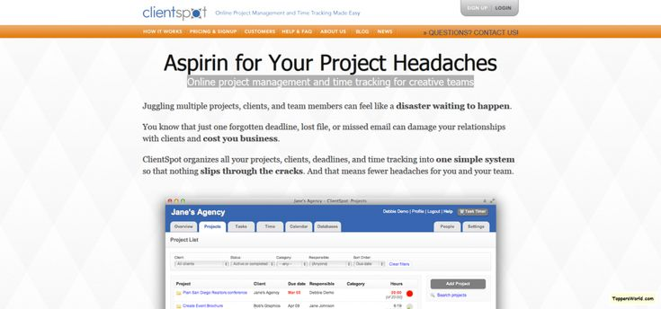 Online Project Management Software Made Easy I ClientSpot
