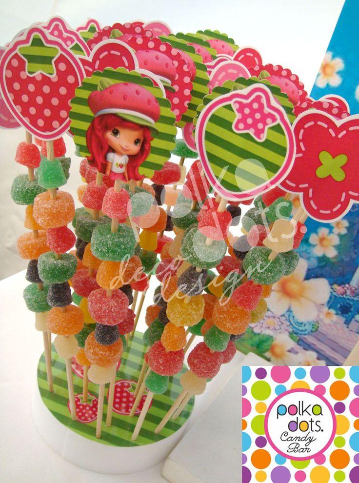 candy bar de frutillitas - Buscar con Google