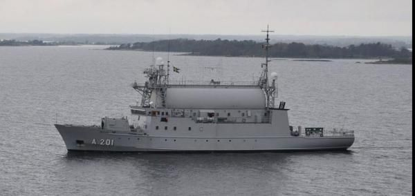 Saab's Kockums business unit is building a signals intelligence ship for the Swedish Navy.