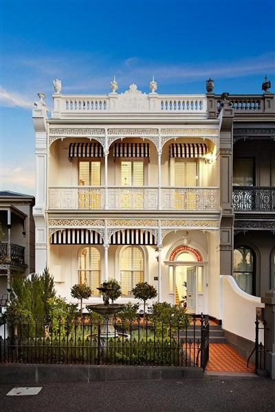 A Victorian Terrace home in Melbourne #traditional #melbourne #homes