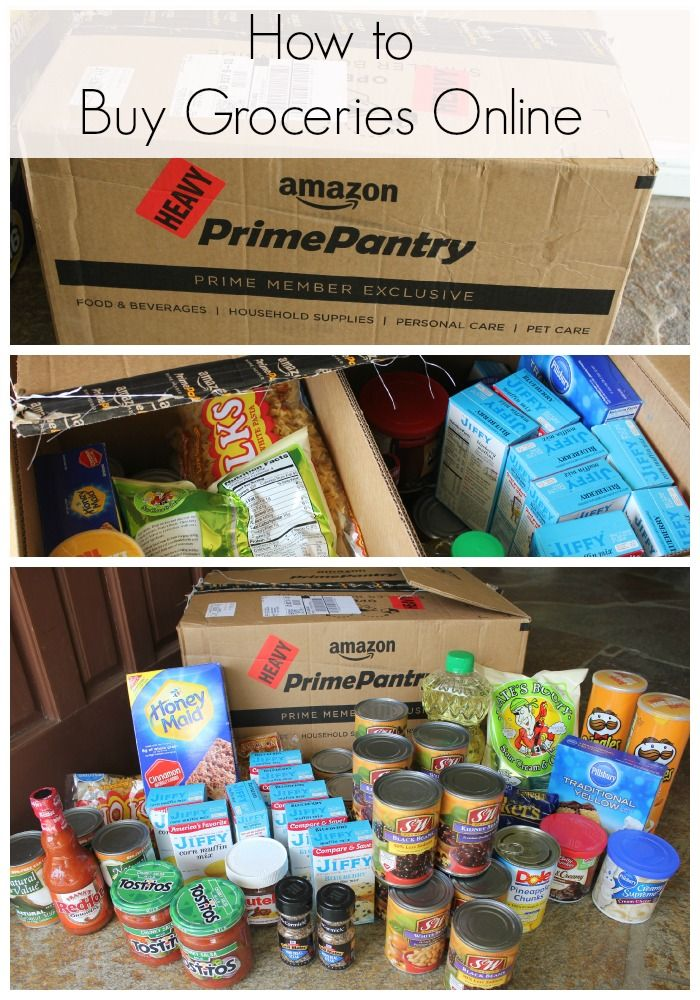 Learn how to use Amazon to buy your groceries online and get them shipped right to your door!
