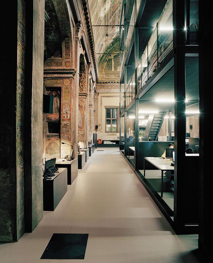 CLS Architetti Studio Inside a 16th Century Church in Milan | http://www.yellowtrace.com.au/massimiliano-locatelli-cls-architetti-studio-milan/