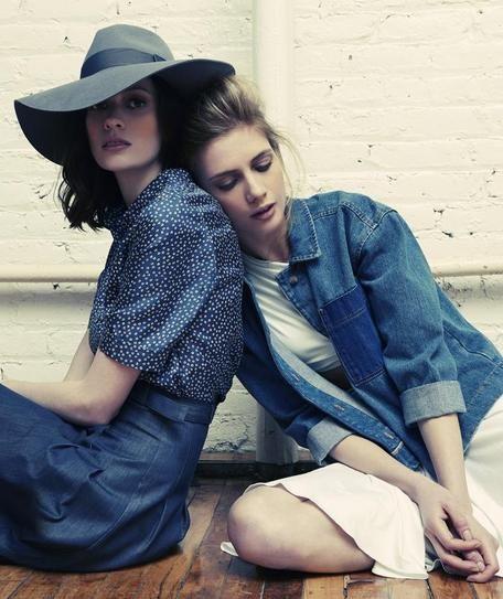 Rhapsody in Blue: A Fashion Editorial