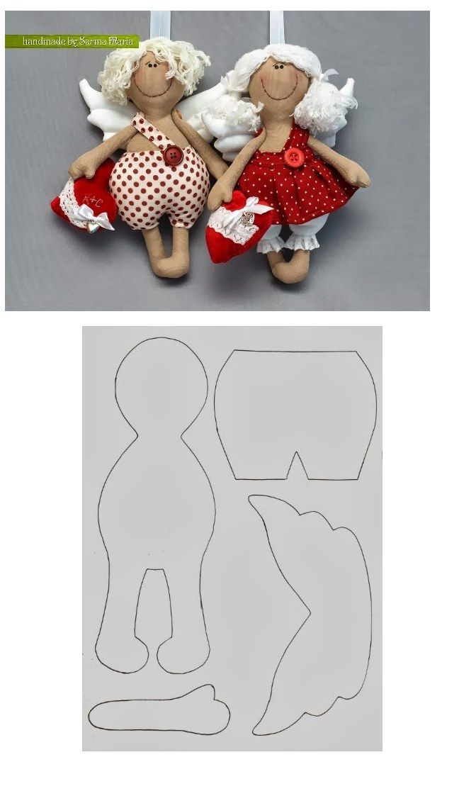 Collection of funny toys textiles with patterns