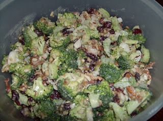 Nutty Broccoli Salad recipe