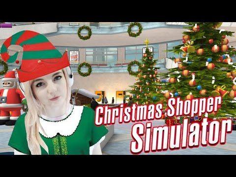 SANTA IS A KILLING MACHINE | Christmas Shopper Simulator - YouTube