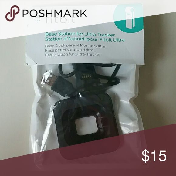 Fitbit Ultra Tracker charger Fitbit Ultra tracker....in original package, never been opened....perfect condition.... Fitbit Accessories Watches