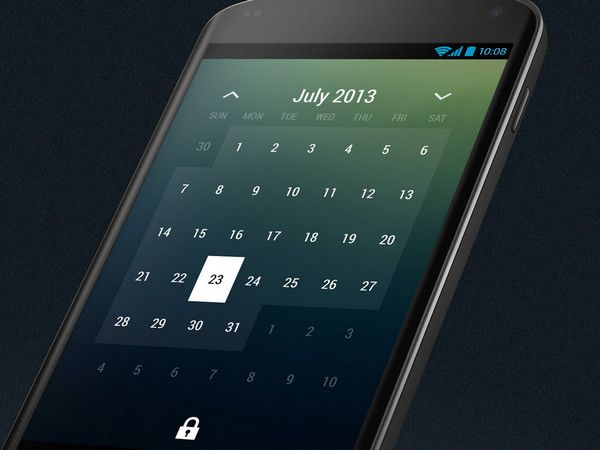 Month Calendar Widget by Roman Nurik