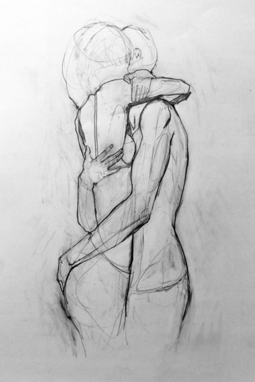 Imagen de love, couple, and drawing