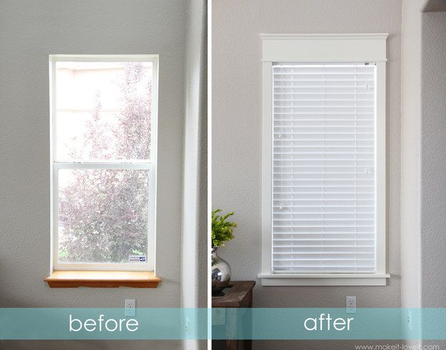 Upgrade the Window Frames