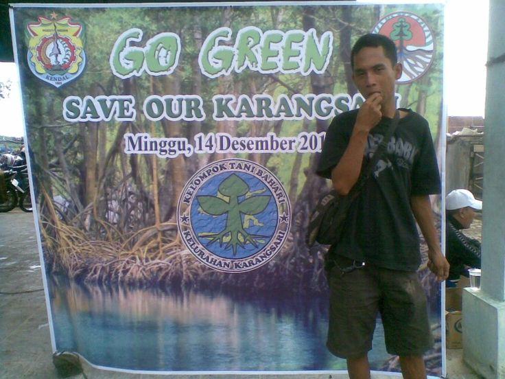 Go green mangrove