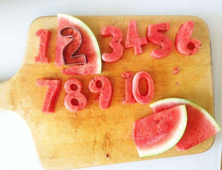 Melone austechen