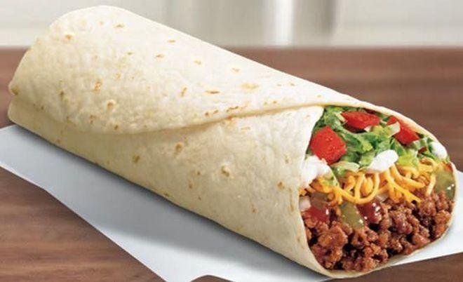 Del Taco Macho Beef Burrito