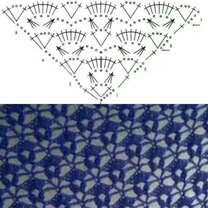 Mejores 2767 imágenes de crochetisimo en Pinterest   Tejer, Ponchos ...