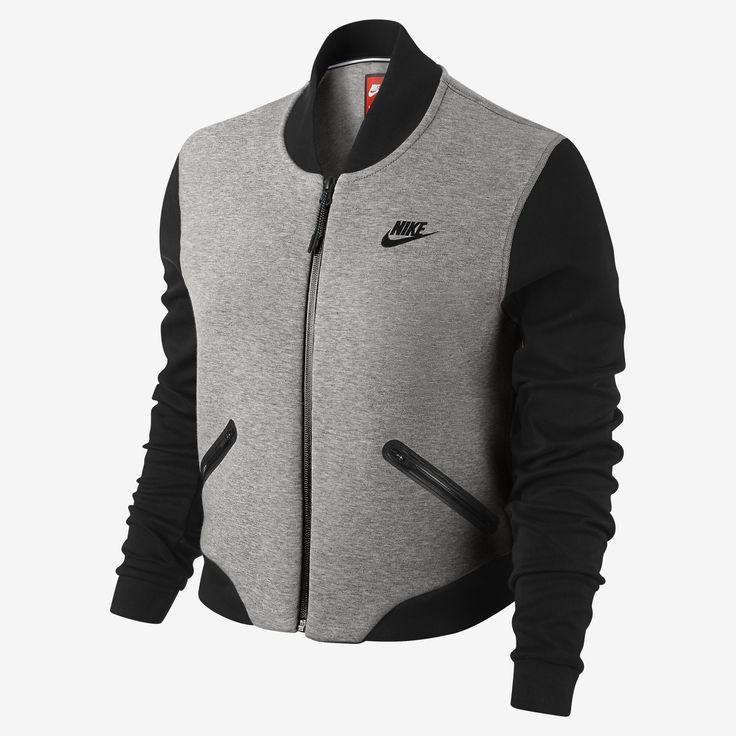 Nike Tech Fleece 3mm Bomber Women's Jacket. Nike Store