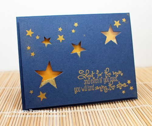 Star Shaker Card - Making a Card #40 Video - Prairie Paper & Ink