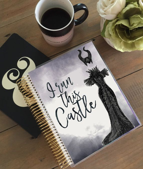 Maleficent Disney Villain Planner Cover: Erin by StylishPlanner