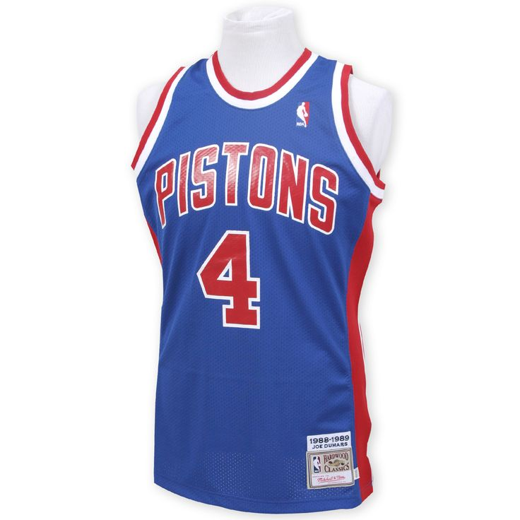 Joe Dumars 1988-89 Authentic Jersey Detroit Pistons Mitchell & Ness Nostalgia Co.