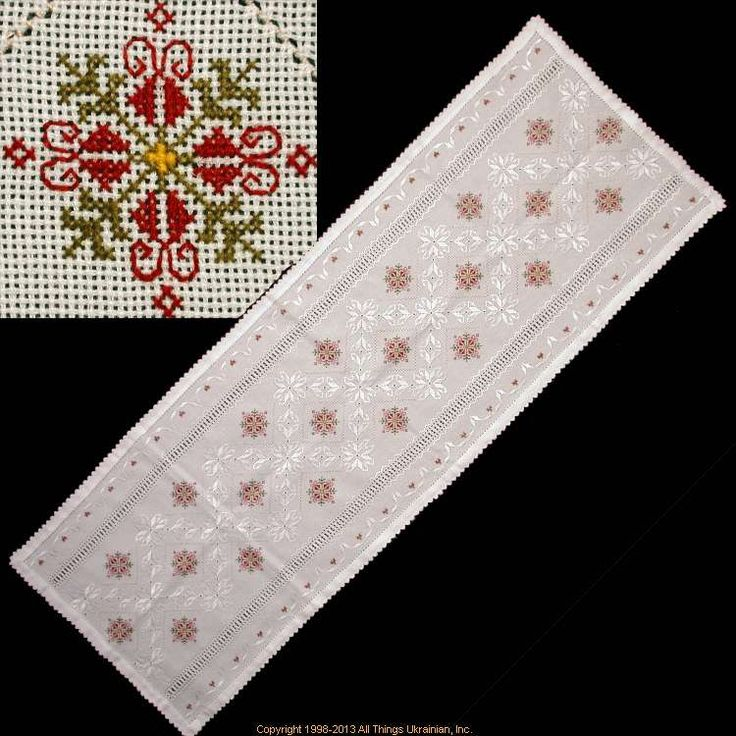 Handmade, hand stitched Ukrainian Embroidery # TE13-08. Sold on http://www.allthingsukrainian.com/Cloth/SmCloths/Thumb/Page1.php