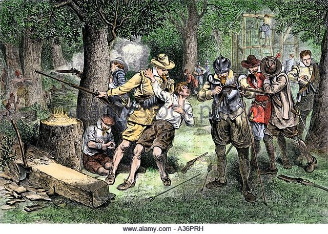 early colonists in america Learn about early colonial history with these great books that detail the experiences of english colonists, native americans, and others in colonial america.