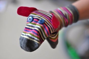 Animal Sock Puppet Pattern Free | ... Make and Do, Crafts and Activities for Kids - The Crafty Crow: Puppets
