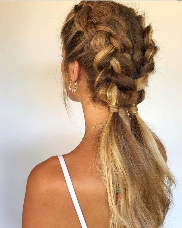 Pin By Amra Smajlovic On Hair Braided Hairstyles Hair Styles Hair