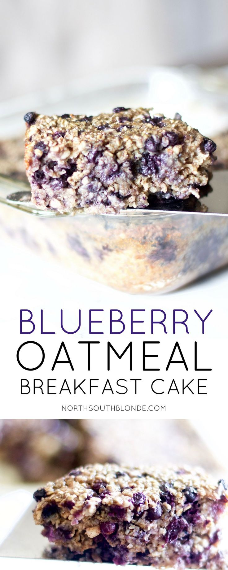 Naturally sweet, this healthy, baked blueberry oatmeal breakfast cake will be your go-to meal every morning, or pretty much for any time of the day. enjoy the melt-in-your-mouth warm, crisp oats with an explosion of blueberries. It will feel like dessert for breakfast – and you will reap the benefits. Gluten-Free | Baby Food | Toddler Food | Organic | Nutrition | Nutritious | Clean Eating | Wholesome | Rolled Oats | Dessert | Easy | Baking | Breakfast Recipes | Blueberries | Fruit | Weight…