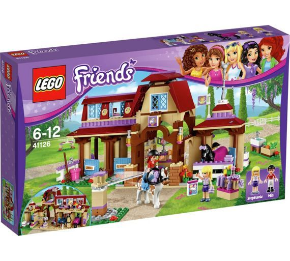 Buy LEGO Friends Heartlake Riding Club - 41126 at Argos.co.uk - Your Online Shop for LEGO, LEGO and construction toys, Toys.
