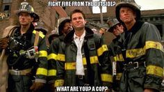 A little #Firefighter Funny