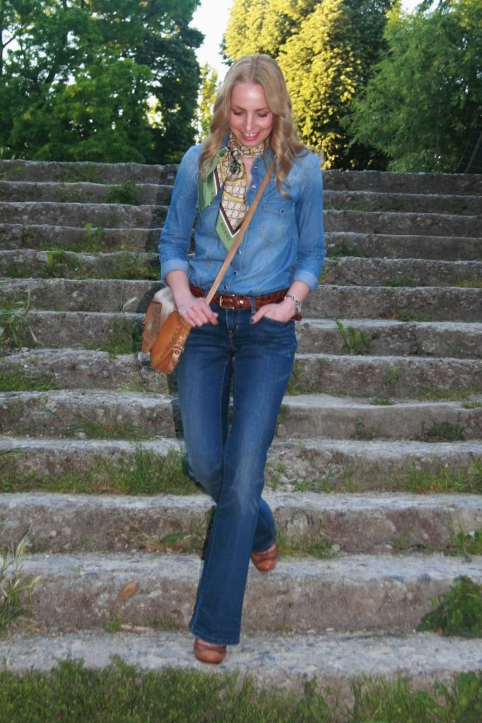 TOTAL DENIM OUTFIT