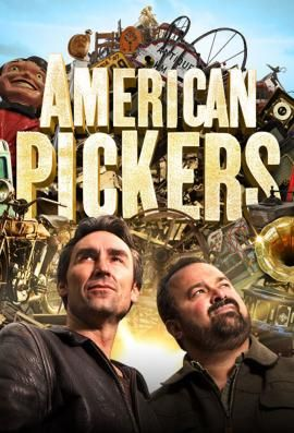 I have fallen into the dark hole that is American Pickers.