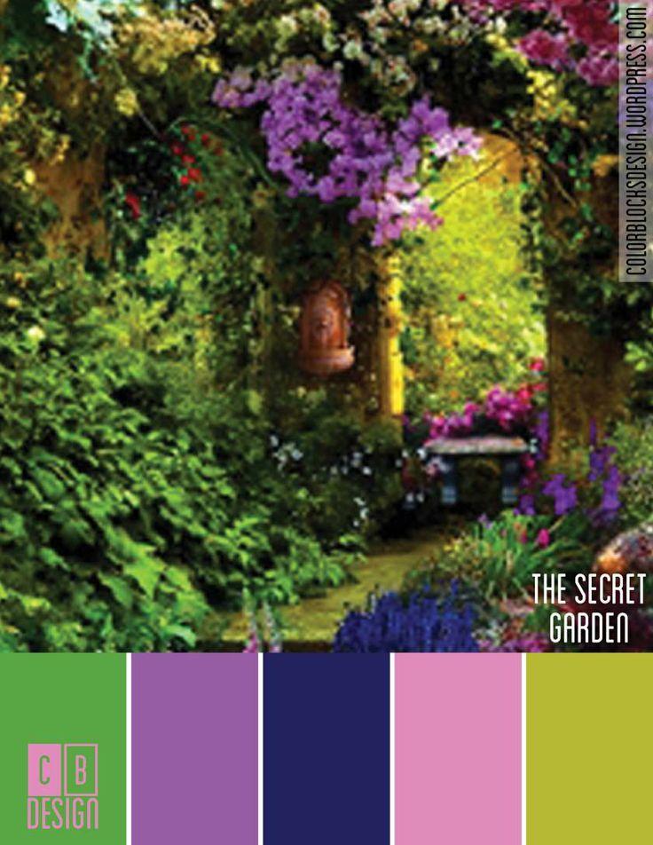 The Secret Garden | Color Blocks Design