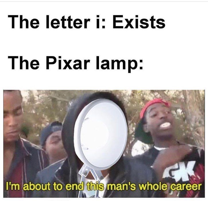 Watch The Best Youtube Videos Online F For Pixar Lamp Jalapeno Mems Jalapeno Mems Really Funny Disney Funny Funny Relatable Memes