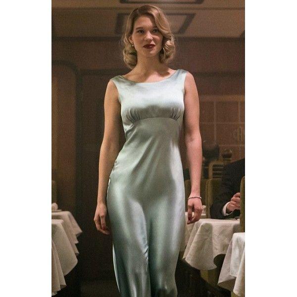 Lea Seydoux Madeleine Swann Dusty Green Dress in 007 The ...