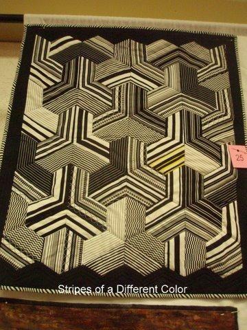 Stripes of a Different Color, Dixie Quilt Guild