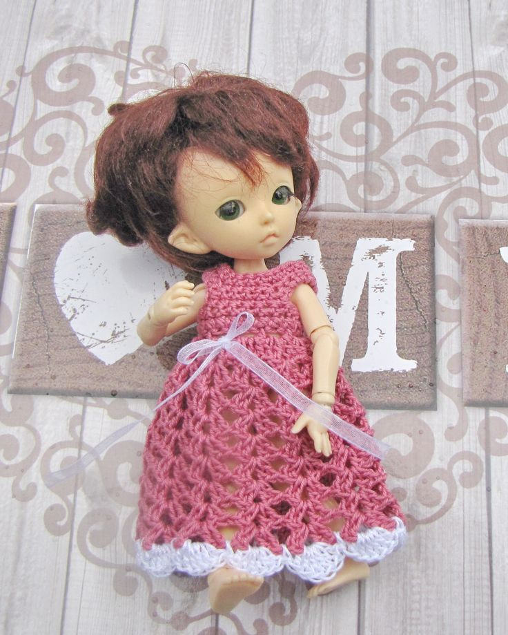 The nightgown on the Pukifee doll is free shipping by Shopdollwithowl on Etsy