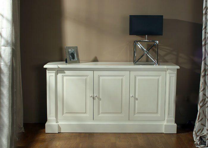 Bahut montauroux patin meuble peint mobilier patin ma maison en pro - Meuble peint provencal ...