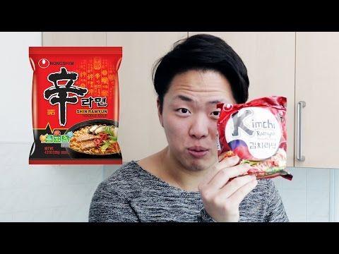 Как готовить Рамён. Корейская Лапша aka Доширак - YouTube