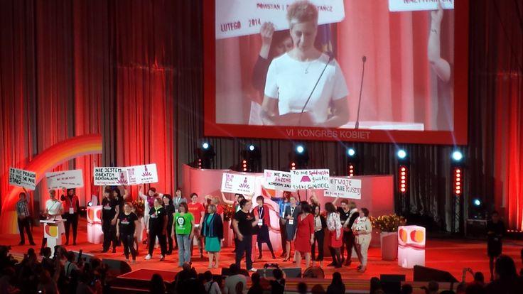 One Billion Rising na VI Kongresie Kobiet