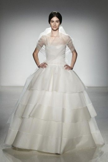 "Amsale ""Hilton"": Bridal, Spring Weddings, Dress, Amsale Hilton, Wedding Gowns, Collection, Spring 2014"
