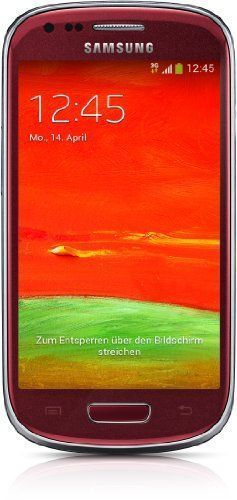 Samsung Korea I8200 S3 Mini Ve Unlocked Cell Phone - Retail Packaging - Red, 2015 Amazon Top Rated Unlocked Cell Phones #Wireless #UnlockedCellPhones