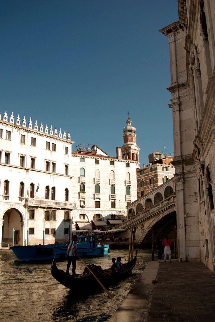 """cityhopper2: """" At the Rialto Bridge, Venice, Veneto 2011, Italy photography by cityhopper2 """""""