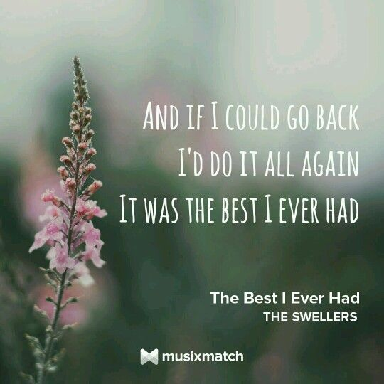 The best I ever had