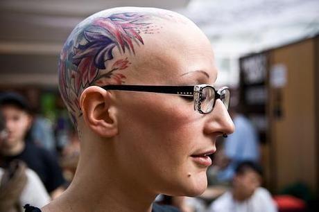 Job Stopper Head Tattoo