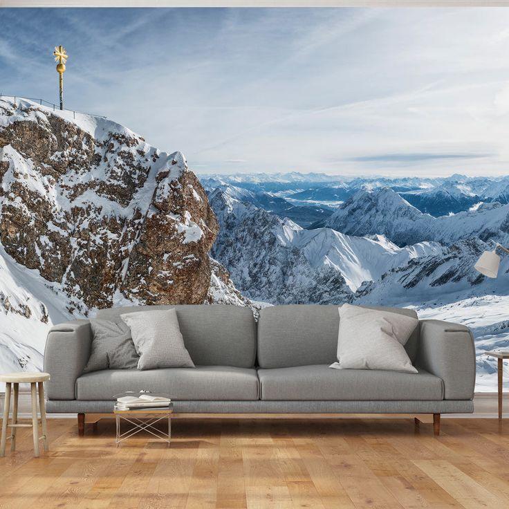 Mountain Wallpaper #mountain #wall #landscape #art